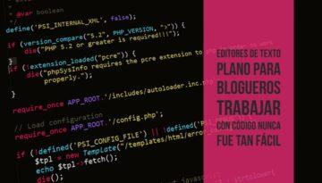 editores de texto plano para blogs