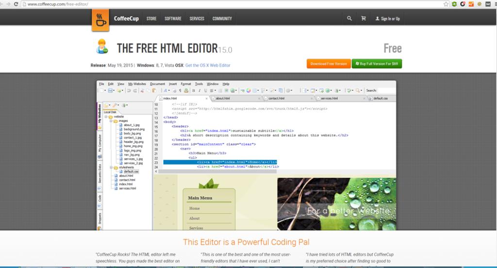 editar el codigo de un blog