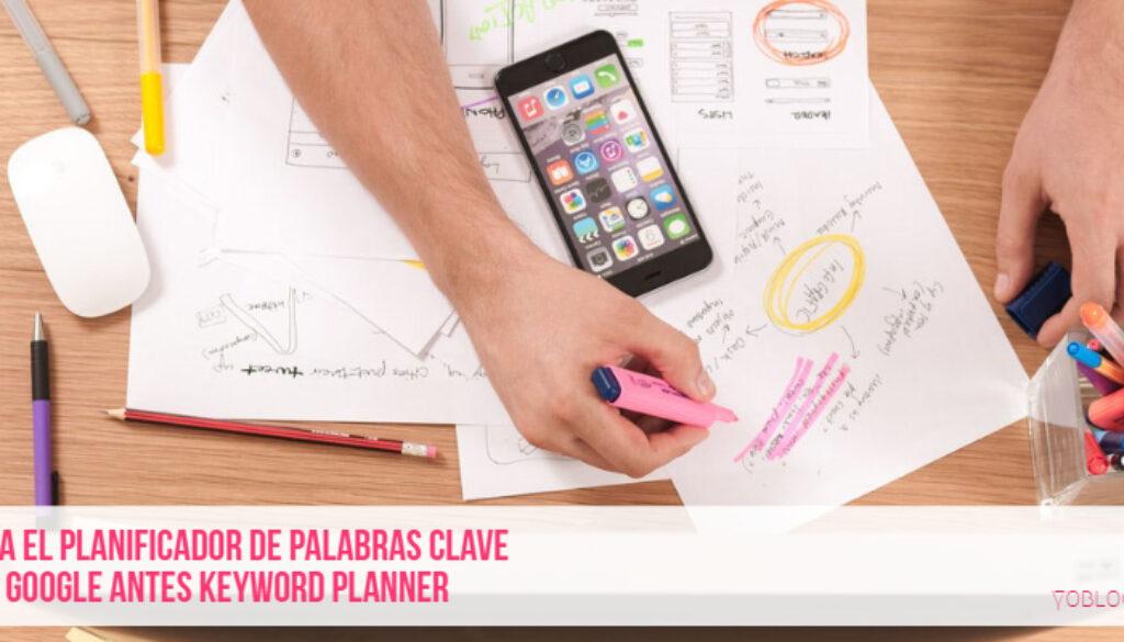Usa el planificador de palabras clave de Google para mejorar tu blog