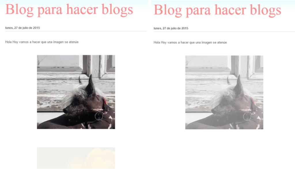 aclarar una imagen de tu blog