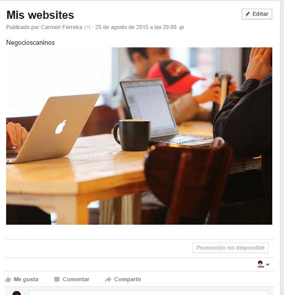 blog de facebook