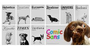 tipografía en un blog