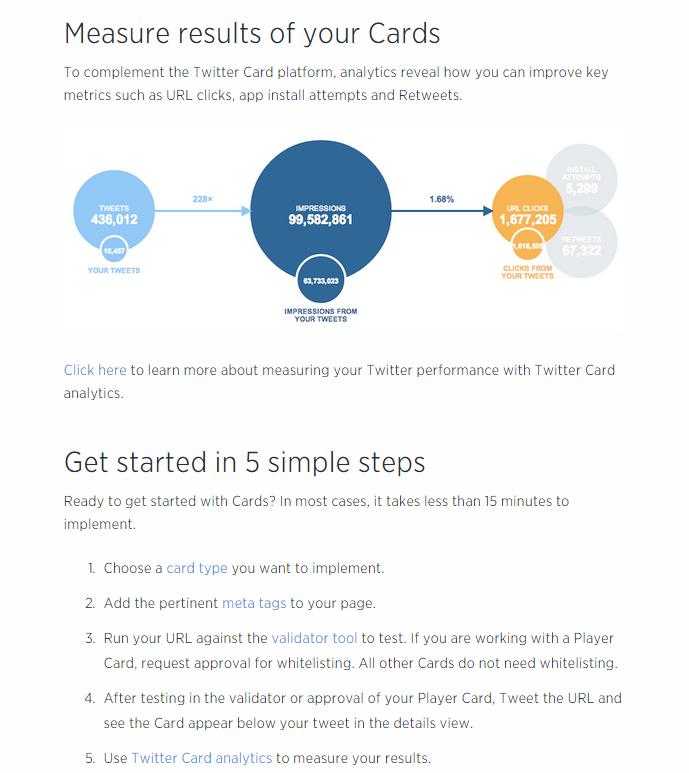 impulsar twitter con las twitter cards