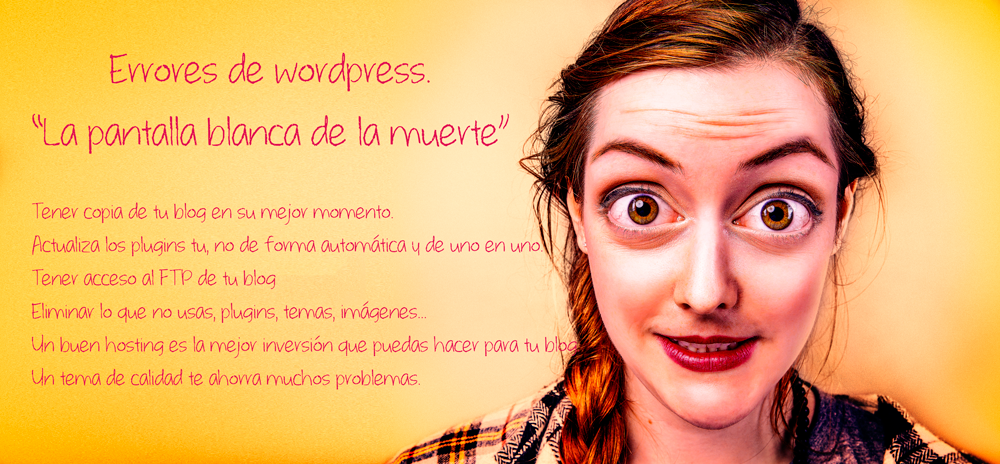 problemas de wordpress