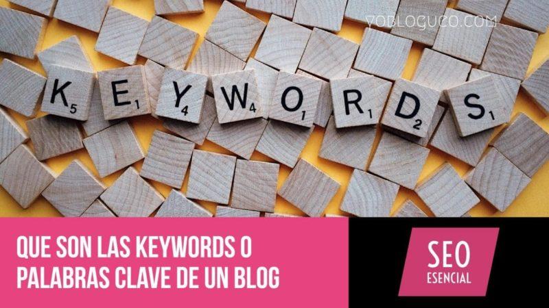 Que son las keywords o palabras clave de un blog