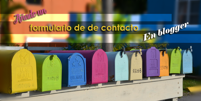contact form para bloguer
