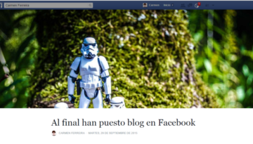 facebook pagina blog