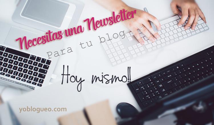 newsleter para tu blog