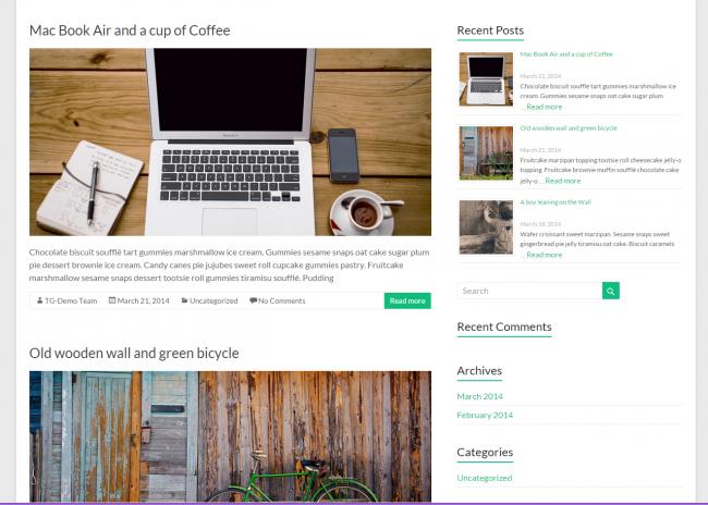 themes gratis wordpress