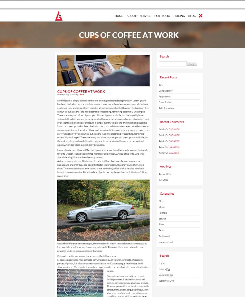 wordpress theme gratis