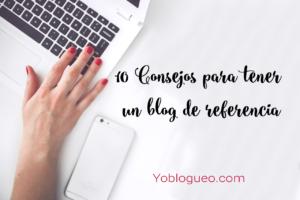 crear un blog de referencia