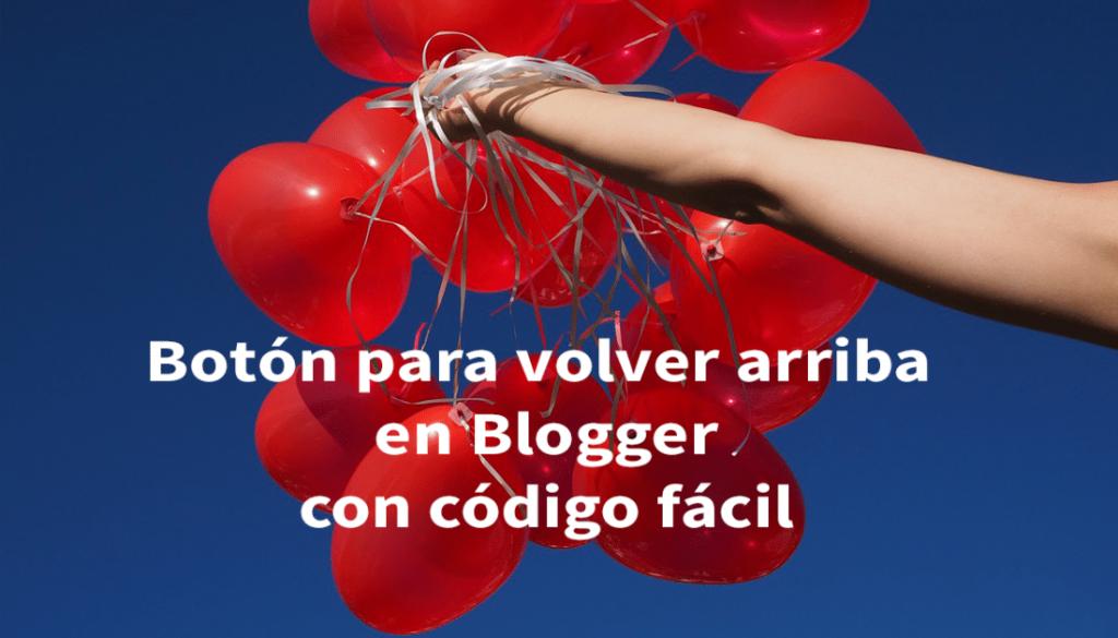 volver arriba en blogger