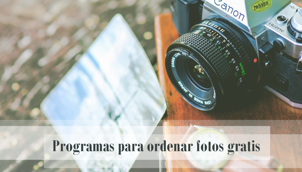 programas para ordenar fotos