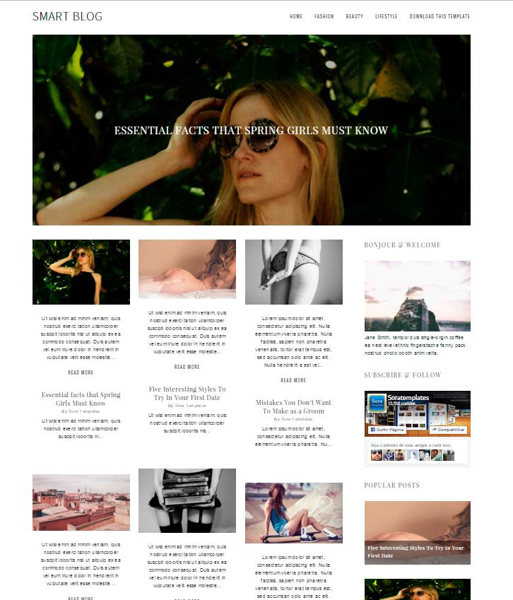 plantilla bloger
