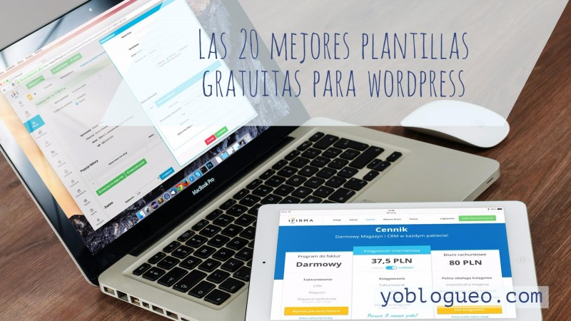 20 plantillas de wordpress gratis
