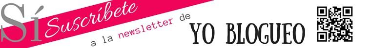 newsletter de yoblogueo