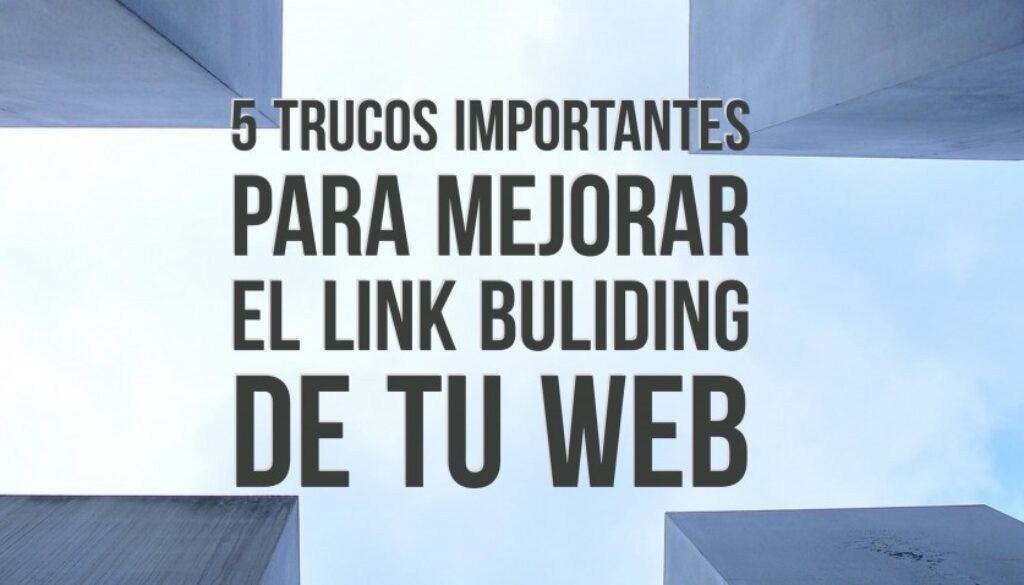 mejorar el link building