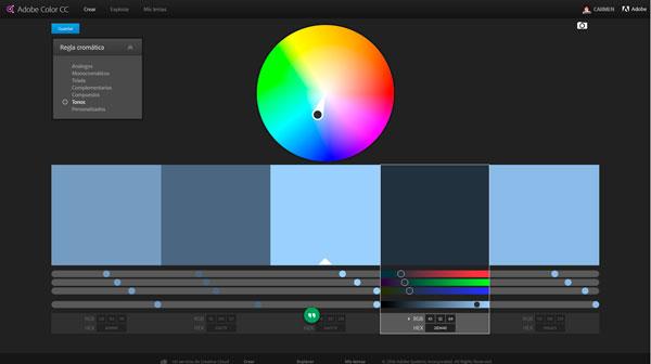 como elegir los colores para un blog