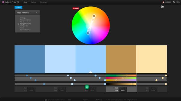 elegir los colores para un blog