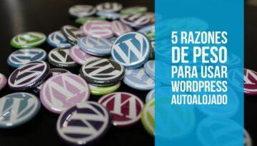 5 motivos para elegir wordpress