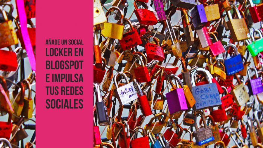 Social Locker en blogspot
