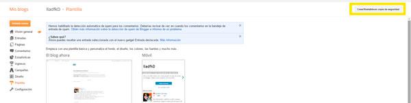anadir social blocker en blogger