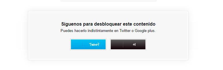 social blocker para blogspot