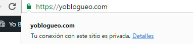certificado ssl para blogs