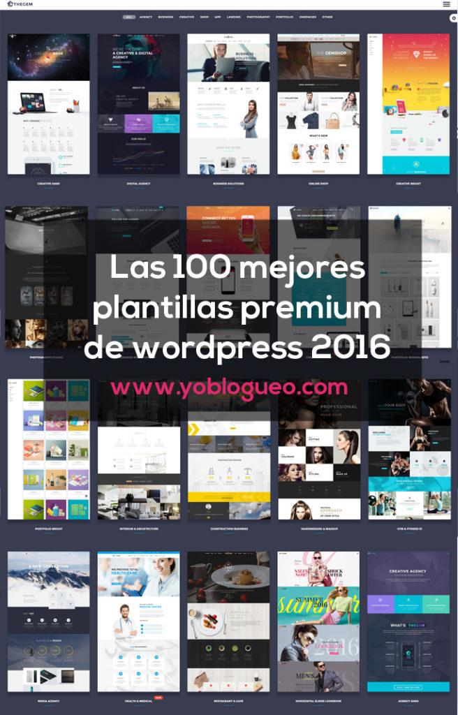 10 mejores plantillas premium wordpress 2016