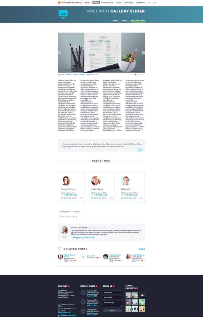 la mejor plantilla del 2016 para wordpress