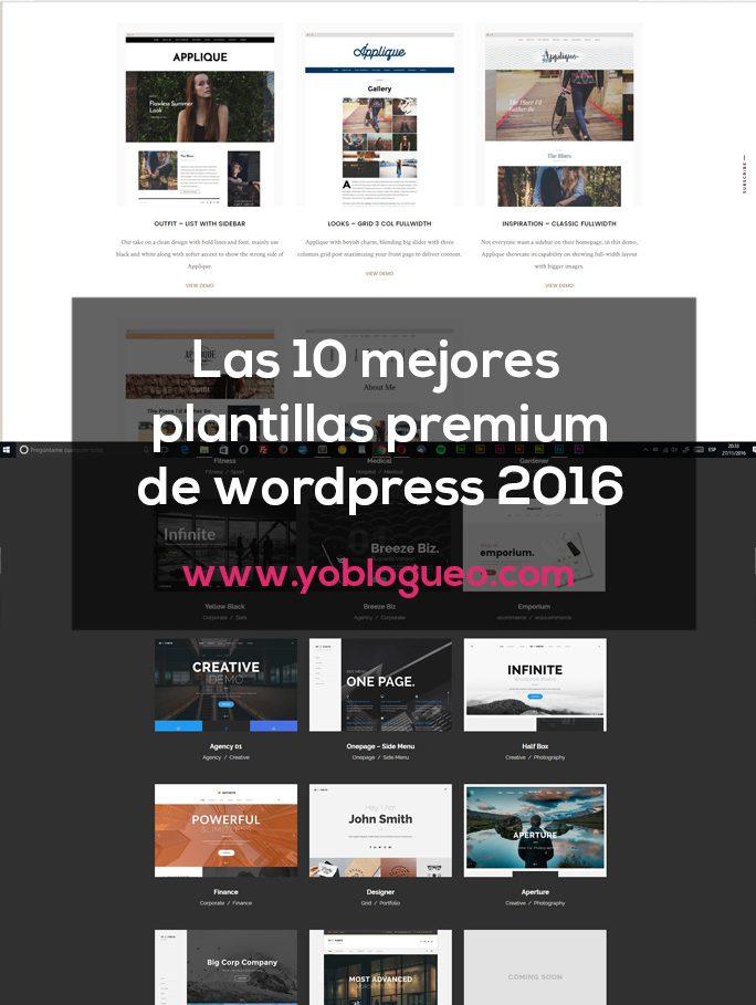 las 10 mejores plantillas para wordpress premium