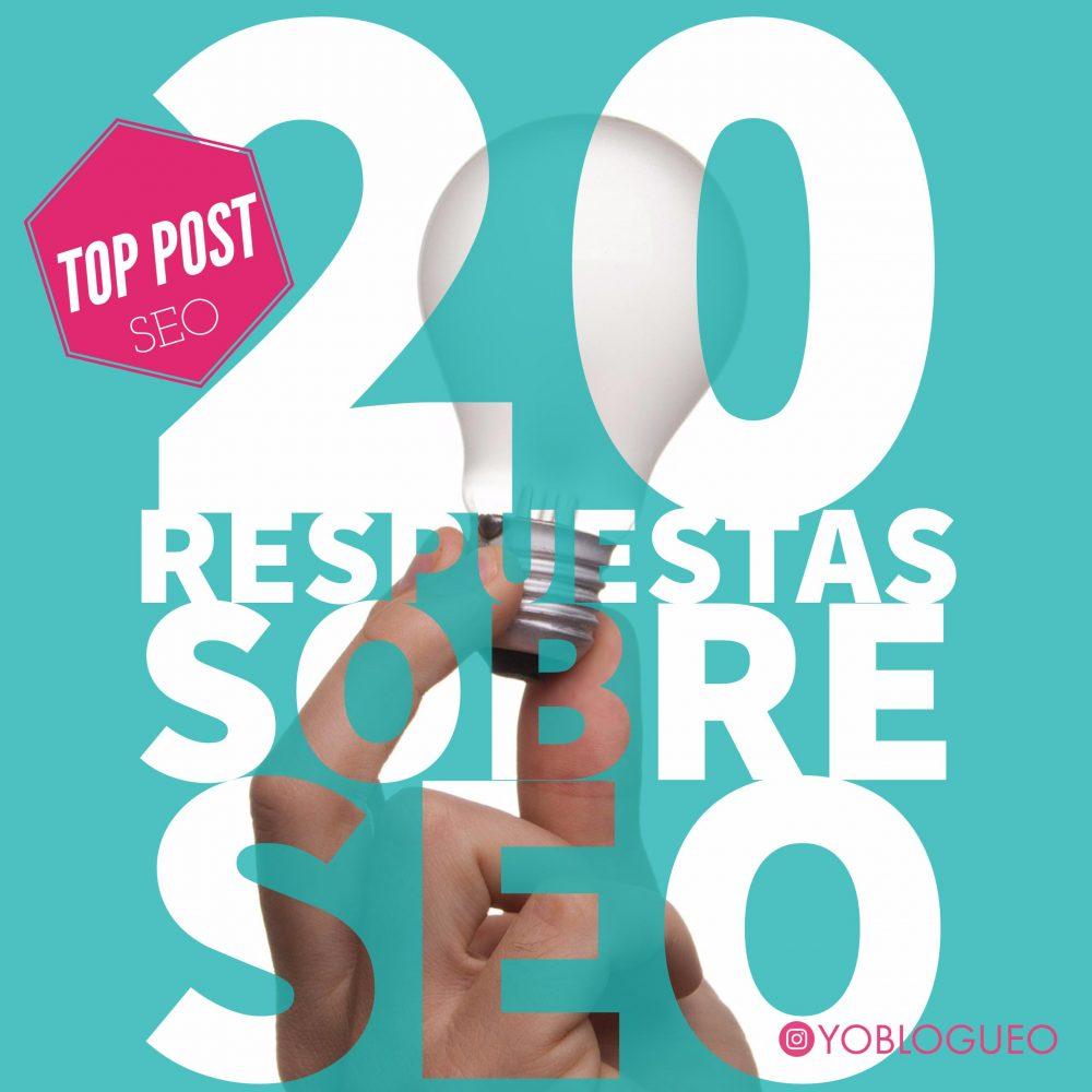 20 respuestas a preguntas de SEO