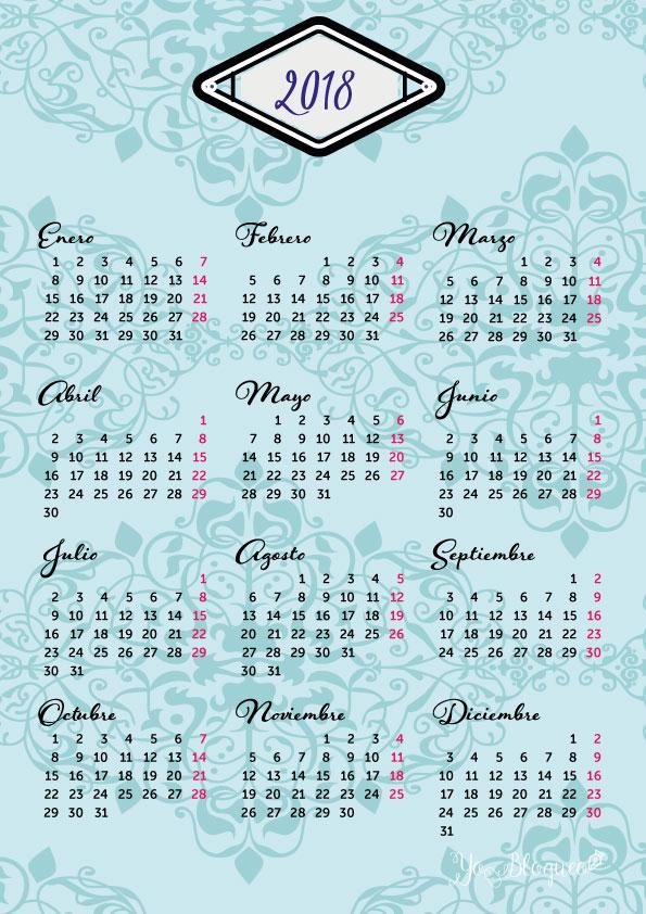 calendario bonito gratis pdf