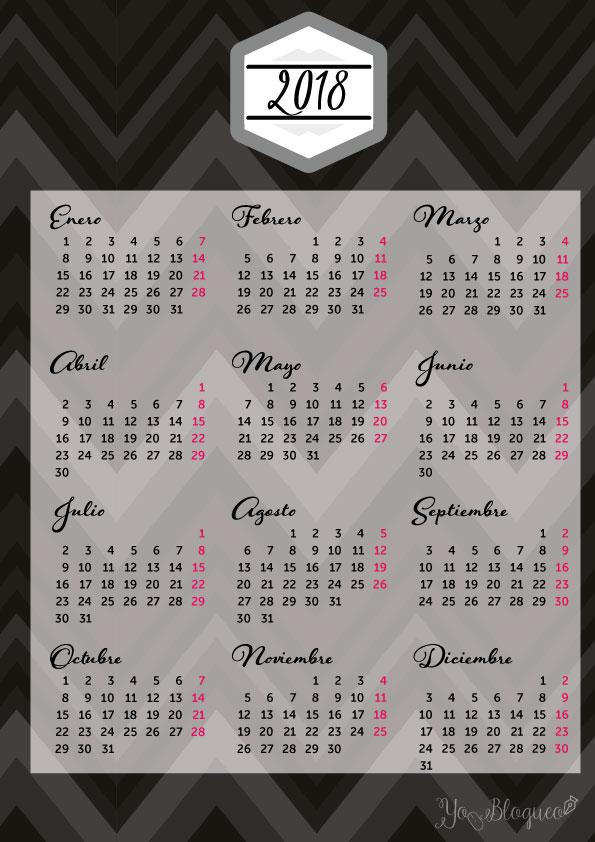 calendarios-2018-gratis-imprimir-negro
