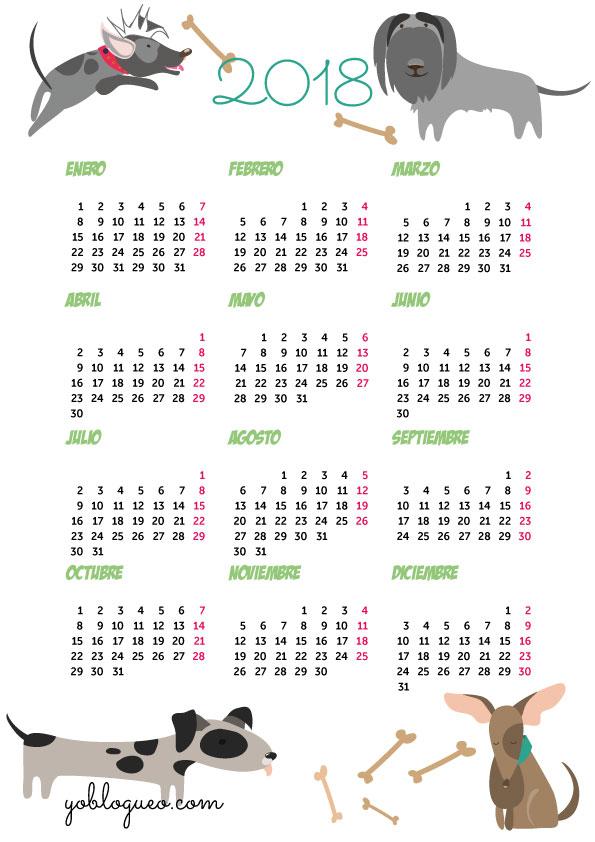 calendario para descargar