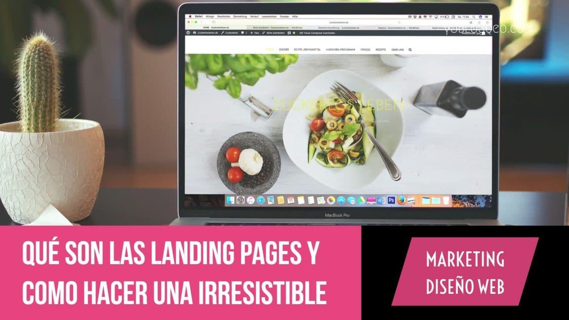 Qué son las landing pages