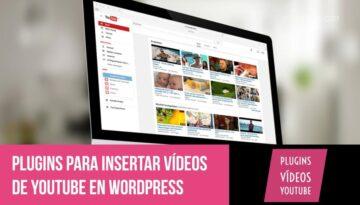 Insertar galerías y modificarlas con YouTube embed