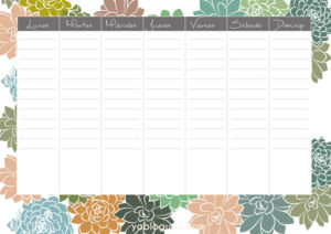 Descargable gratuito planner