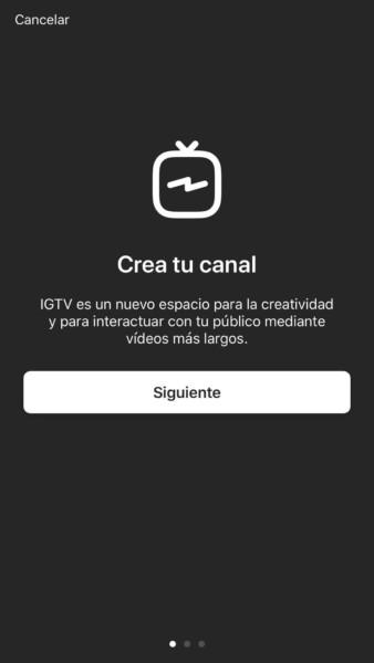 Caracteristicas de los videos de IGTV