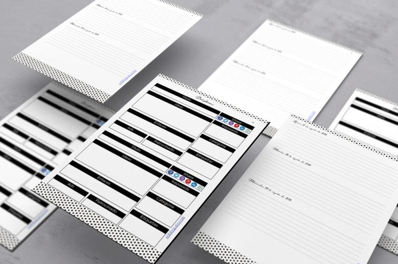agenda para imprimir en pdf gratis 2019-2020