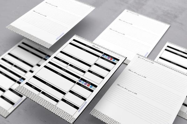 agenda para imprimir personalizable