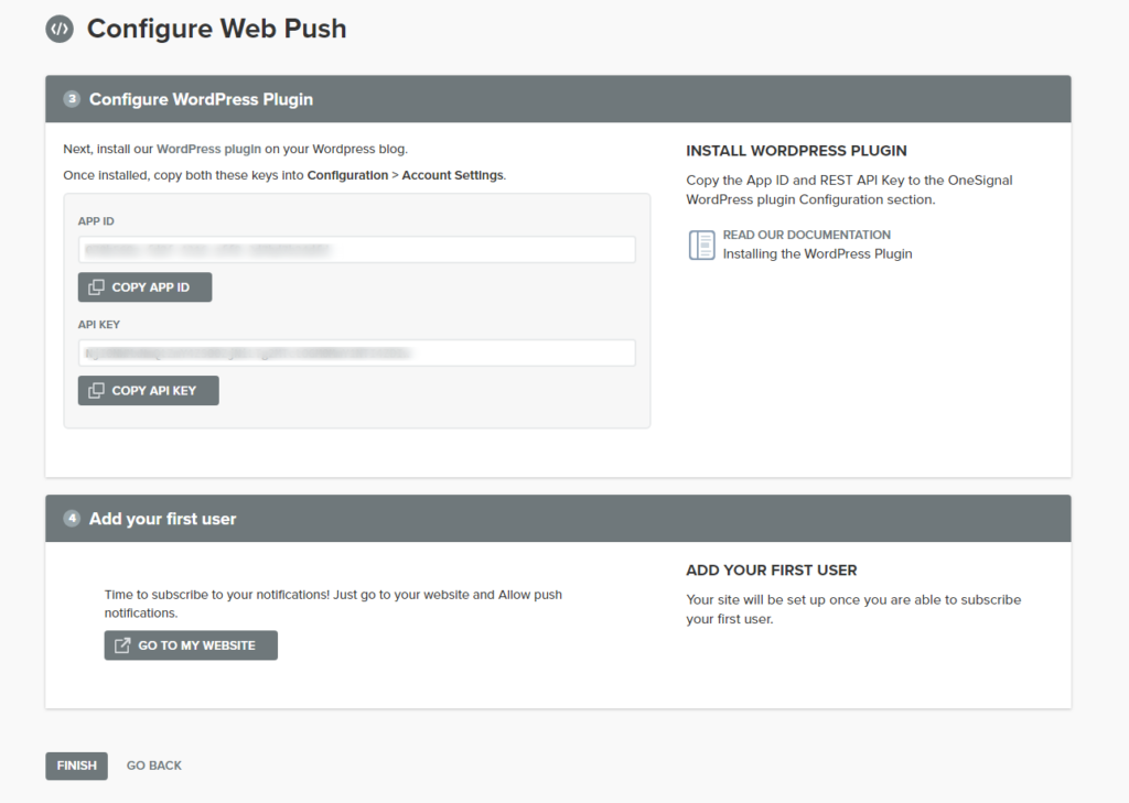 como configurar las notificaciones push en un blog
