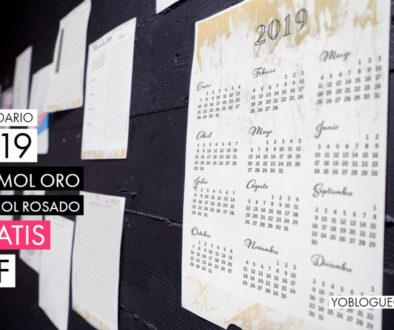 calendario 2019 marmol