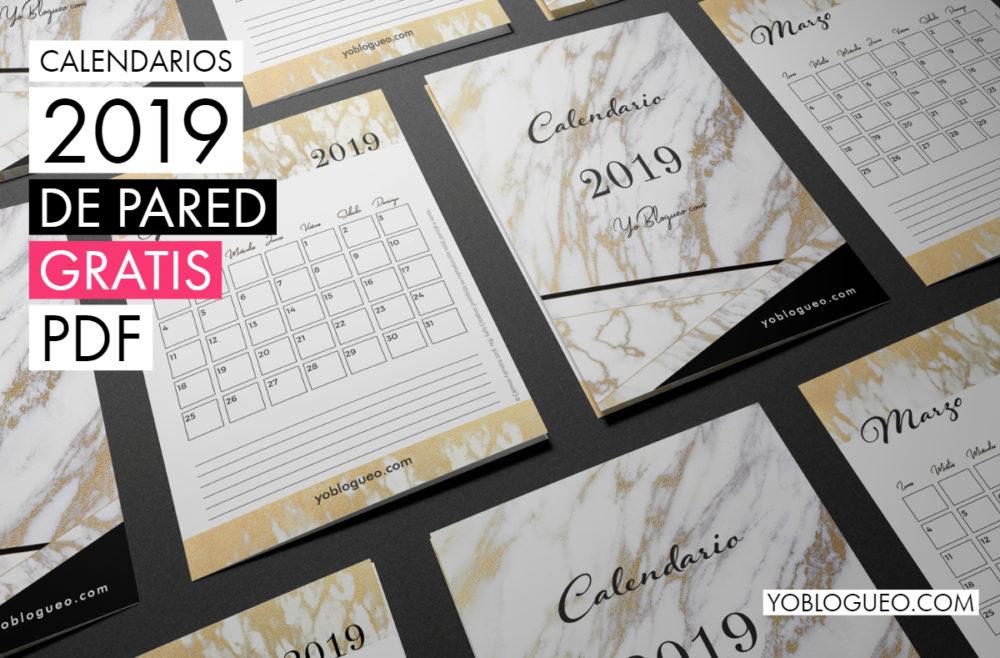 calendario de pared mármol 2019 (1)