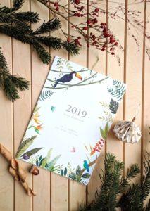 calendario 2019 tropical
