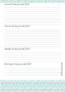 agenda escolar gratis