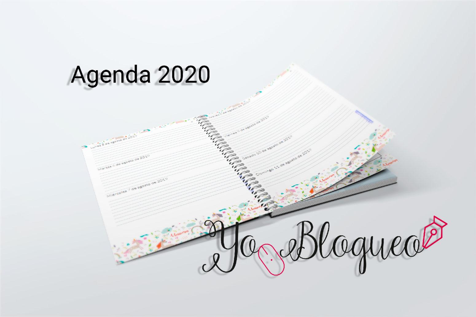 agenda gratis descargable 2020