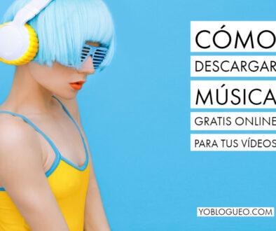 Cómo descargar música gratis online para tus vídeos