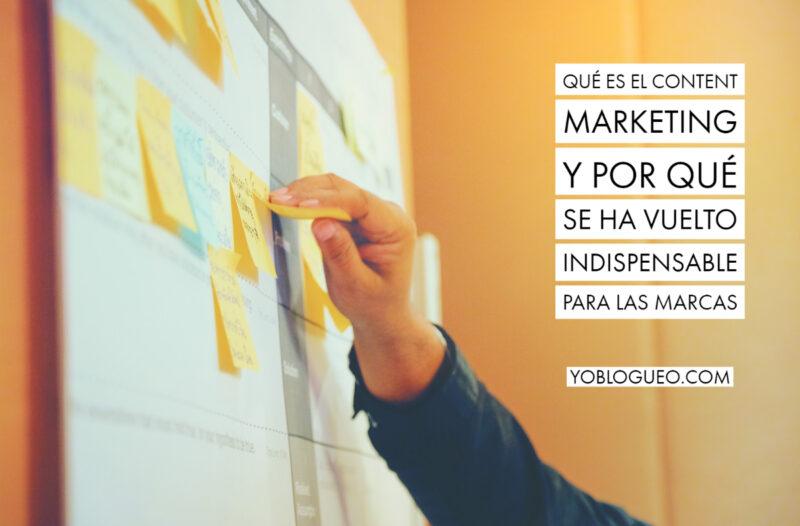 Qué es el content marketing y por qué se ha vuelto indispensable para las marcas Copy