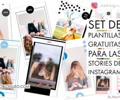 Set de plantillas gratuitas para las stories de Instagram